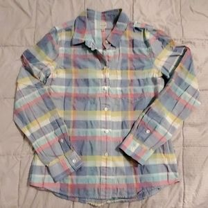 Pastel Madewell Button-down Shirt